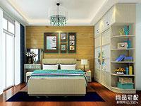 2016卧室壁纸装修效果图欣赏