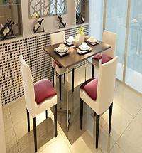 小户型折叠餐桌图片大全  餐桌效果图大全