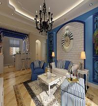 地中海风格客厅装修图片欣赏