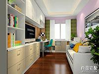 室内书房设计效果图 室内书房效果图