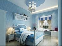 地中海风格卧室效果图欣赏