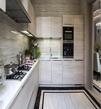 别墅厨房图片 别墅厨房装修图片