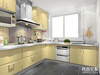 小型厨房装修图片大全欣赏