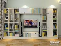 简约风格电视墙装修效果图