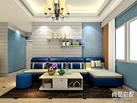 现代沙发背景墙效果图大全欣赏