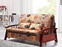 实木折叠沙发床图片 实木折叠沙发床