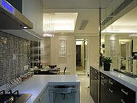 厨房效果图现代简约