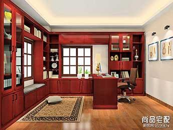 中式书房装修效果图大全欣赏