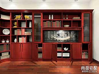 新中式书房效果图2016