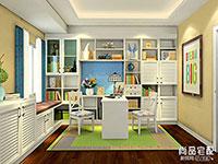 简单书柜设计图大全欣赏
