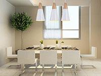 时尚餐厅3吊灯图片欣赏