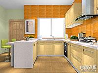 家庭厨房设计图片大全欣赏