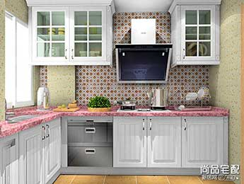 小型家庭厨房装修效果图大全