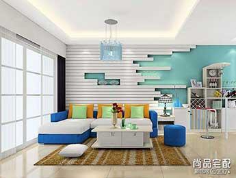 简欧沙发背景墙效果图大全欣赏