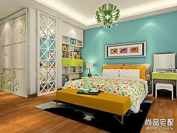 欧式卧室装修图片大全欣赏