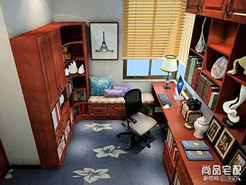书房红木书桌图片