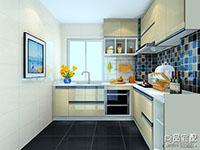 时尚整体厨房设计图片