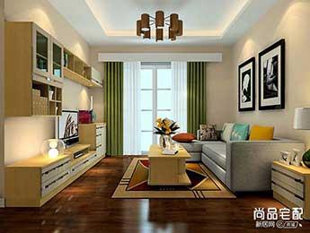 现代简欧客厅装修效果图欣赏