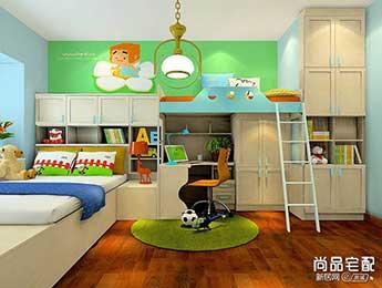 儿童卧室装修图片大全欣赏