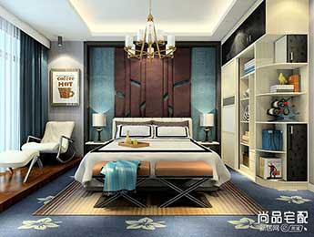 卧室实木大衣柜图片