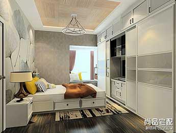 主卧室电视柜设计图