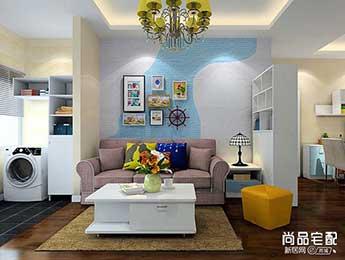 方形小客厅装修效果图欣赏