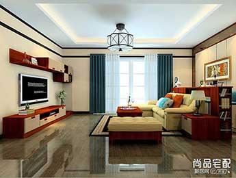 中式古典客厅装修效果图