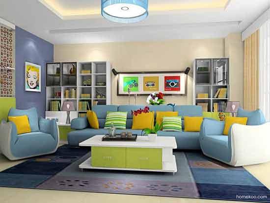 家装沙发背景墙效果图大全