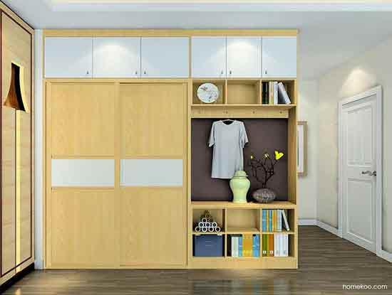 衣柜内部设计图欣赏