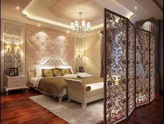 卧室屏风隔断效果图,为你家巧妙增加空间!