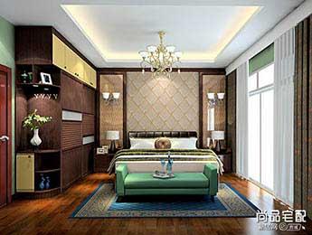 中式窗帘布艺的五大炫彩