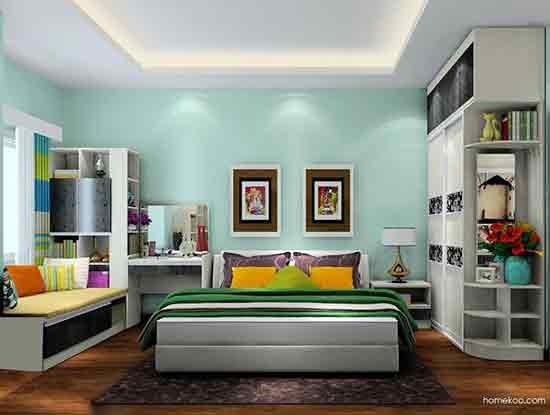 主卧室设计图,让你享受惬意时光