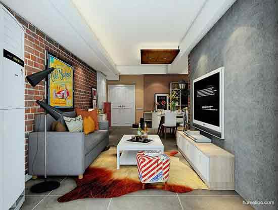 现代风格客厅装饰效果图
