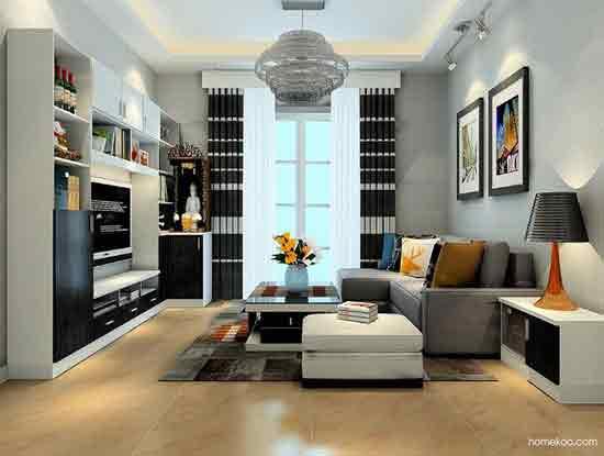 新房现代风格装修图片欣赏