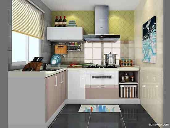 厨房设计效果图大全,唯爱与美食不可辜负