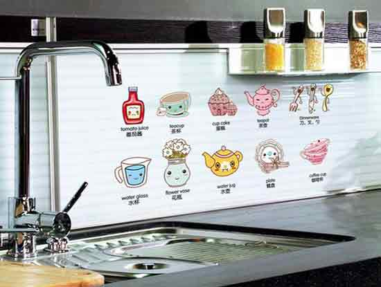 卡通厨房图片展示