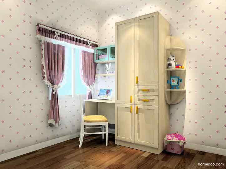 尚品宅配一口价衣柜,合理配置卧室衣柜