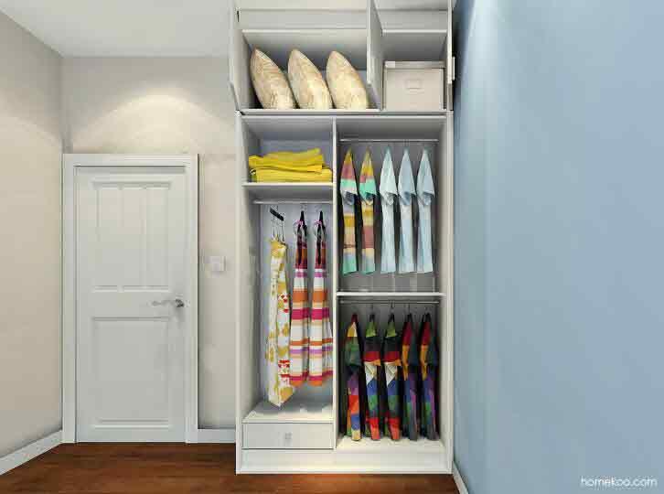 尚品宅配一口价衣柜设计图,看着都想搬回家