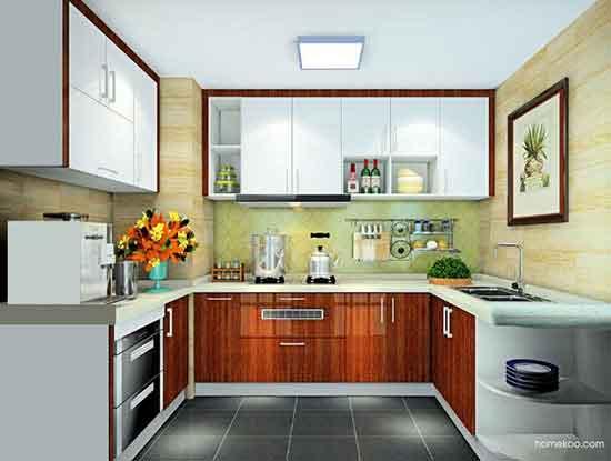 2017家庭厨房间装修效果图欣赏
