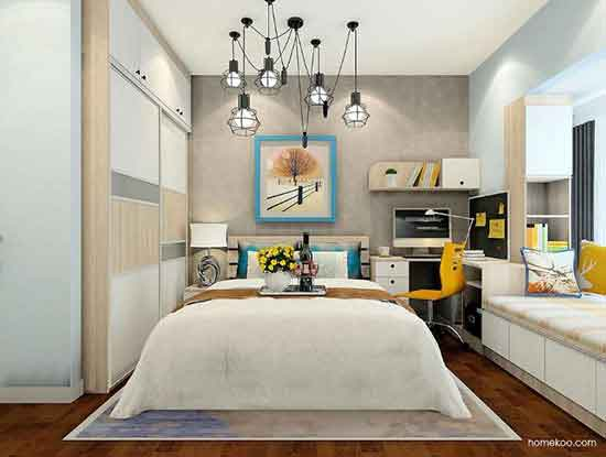 简约风格装修样板图,装饰出温馨感十足的家