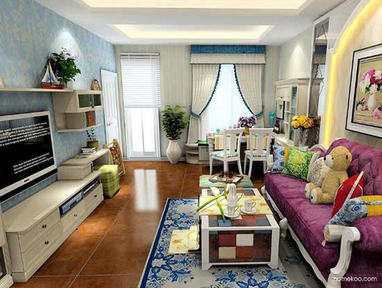 家装客厅效果图欣赏,让家更出彩