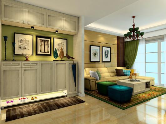 白色欧式家具图片,展现出优雅的欧式风情