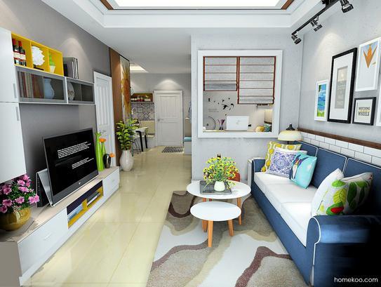 客厅设计效果图欣赏,趣味无穷!