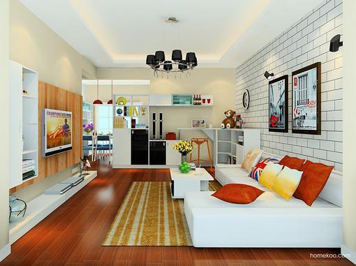 简约客厅装修效果图欣赏,找到专属的装修主题