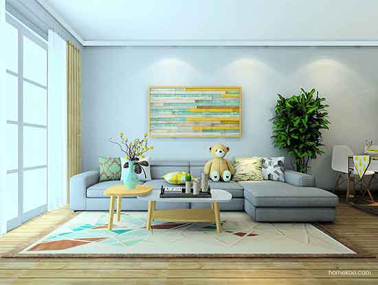 沙发背景墙图片大全,让客厅视觉更美