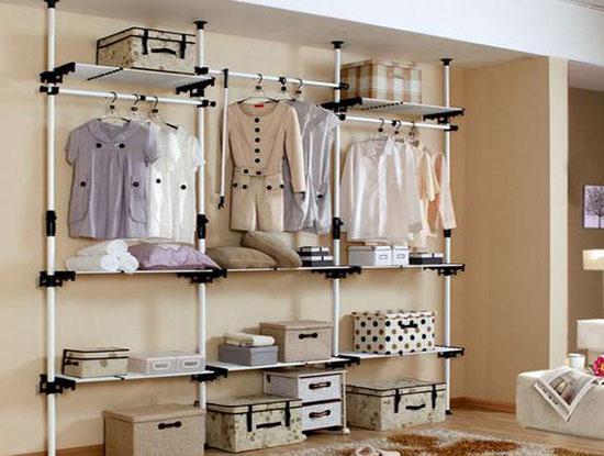 简易衣柜效果图,赋予家生活的情趣