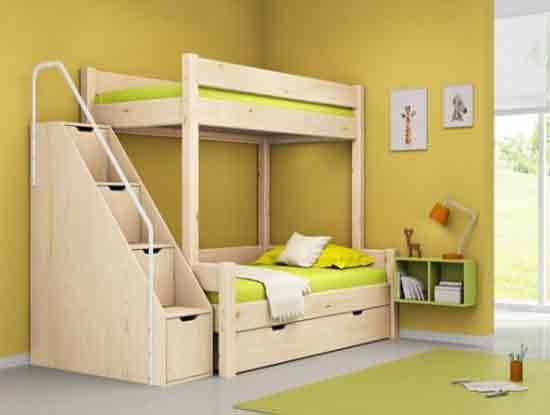 实木儿童床图片及价格,值得好好看看