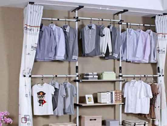 家用简易衣柜图片,非常便利