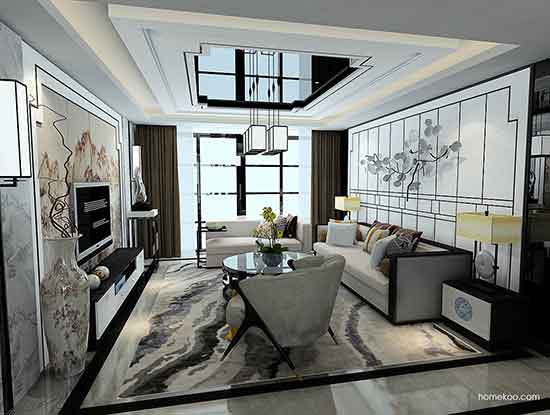 家庭客厅图片,极具艺术的魅力