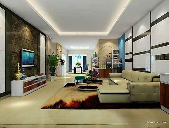 现代中式沙发图片,简约又实用